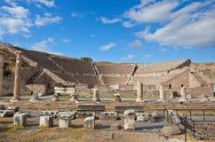 罗马asklepion的pergamum 免版税库存图片