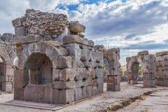 罗马asklepion的pergamum 免版税库存照片