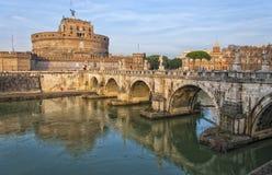 罗马Castel Sant安吉洛01 图库摄影