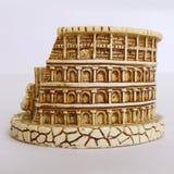 罗马colosseum缩样-后面看法 免版税库存照片
