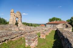 """罗马forttress在库拉†""""Castra马尔蒂斯 免版税库存图片"""