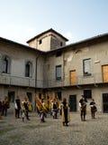 罗马Medievale 2014年 免版税库存照片
