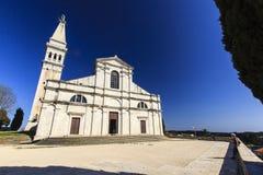 罗维尼,克罗地亚。 免版税库存照片