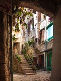 罗维尼, Istria,克罗地亚 库存照片