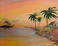 风景,艺术产品 免版税库存图片