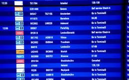 罢工的挪威AIRLIBES飞行员 免版税图库摄影