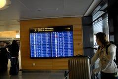 罢工的挪威AIRLIBES飞行员 免版税库存照片