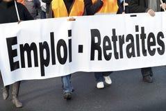 罢工 库存图片