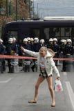 罢工 免版税库存图片