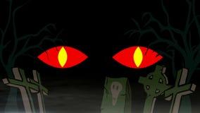 罪恶的眼睛 皇族释放例证