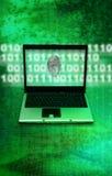 罪行互联网调查 免版税库存照片