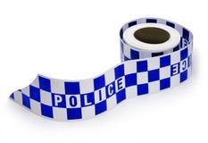 罪行警察场面磁带 库存图片