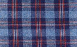 羊毛在苏格兰样式的格子花呢披肩格子花呢披肩 库存图片