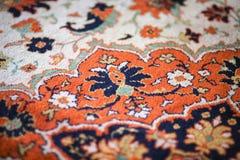 羊毛地毯的图片的片段 免版税库存照片