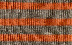 羊毛布料,钩针编织的织品纹理背景 免版税库存照片
