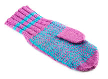羊毛手套 库存图片