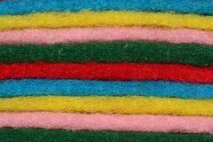 羊毛擦试 免版税库存图片