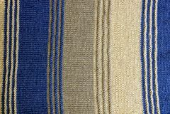 羊毛毛线衣片断的纹理有条纹的 图库摄影
