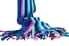 羊毛的围巾 库存照片
