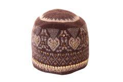 羊毛的帽子 免版税库存图片