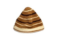 羊毛的盖帽 库存照片