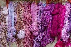羊毛纱线 免版税图库摄影