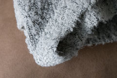 羊毛纺织品冬天 免版税图库摄影