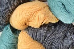 羊毛线团 库存照片
