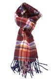 羊毛色的时兴的多的围巾 免版税库存图片