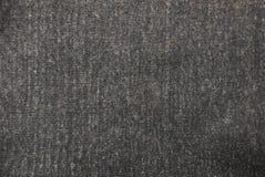 羊毛衣裳深灰织品纹理  库存照片