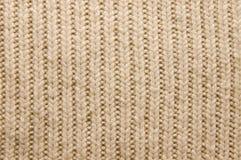 羊毛被编织的纹理 库存图片