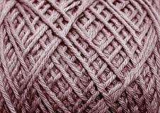 羊毛钩针编织 库存图片