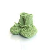 羊毛婴孩袜子 库存图片