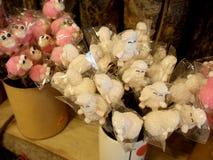 绵羊玩偶souvenirin商店 库存照片