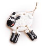 绵羊玩具 图库摄影