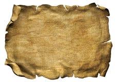 羊皮纸纸卷海盗纸 库存图片