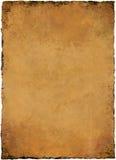 羊皮纸纹理 库存照片