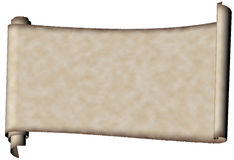 羊皮纸 库存图片