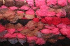 绵羊羊毛编织 图库摄影