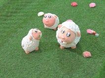 羊羔巧克力 免版税库存图片