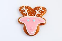 羊羔手工制造可食用的曲奇饼  库存照片