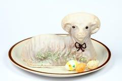 羊羔蛋糕 免版税图库摄影