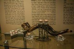 羊角号 节假日 犹太教堂 犹太教 图库摄影