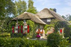 羊角村,荷兰 免版税库存图片