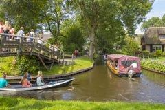 羊角村,荷兰 图库摄影