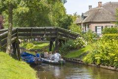羊角村,荷兰 免版税图库摄影