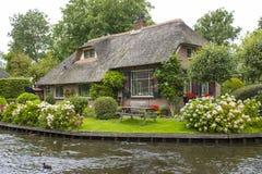 羊角村,荷兰 免版税库存照片