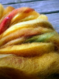 羊魄和毛海织物羊毛 免版税库存照片