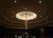 美丽和典雅的旅馆休息室 免版税库存照片