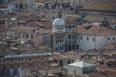 美丽如画和浪漫市的细节威尼斯Venezia,意大利 库存照片